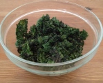 my homemade kale chips!