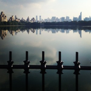 The Reservoir in Central Park - Who wouldn't want to run here?