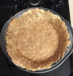 Whole wheat crust!