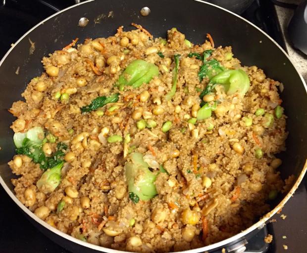 skillet couscous