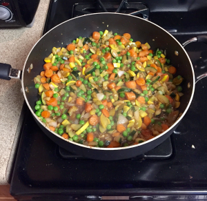 veggies stir fry